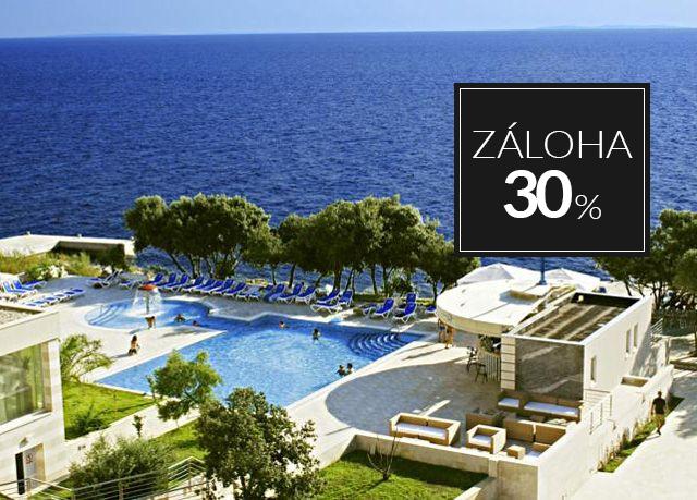 Luna Island Hotel****, Ostrov Pag, Chorvatsko - save 25%