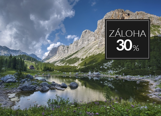 Bohinj Eco Hotel ****, Bohinjska Bistrica, Slovinsko - save 40%
