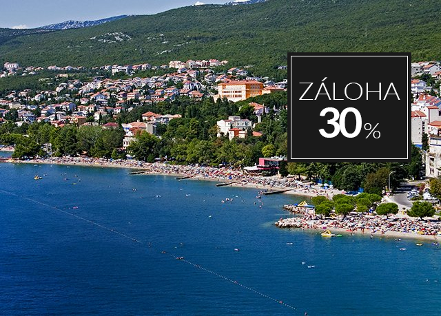 Hotel Vila Ružica ***, Crikvenica, Chorvatsko - save 28%