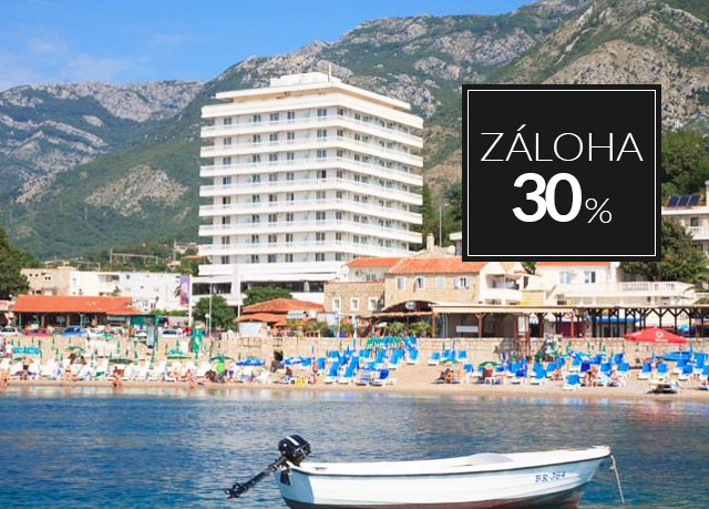 Hotel Sato****, Sutomore, Černá Hora - save 69%