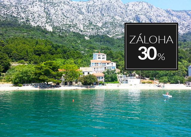 Apartmány Vila Holiday, Živogošće, Makarská riviéra, Chorvatsko - save 9%